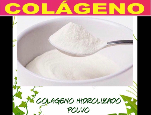 Colageno Hidrolizado 500gr En Polvo 100% Puro Promoción $800