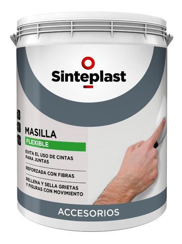 Masilla Flexible Sinteplast 1 K Con Fibra De Vidrio Mm
