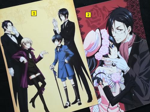 Posters A3 29x42cm Anime Kuroshitsuji / Niponmania