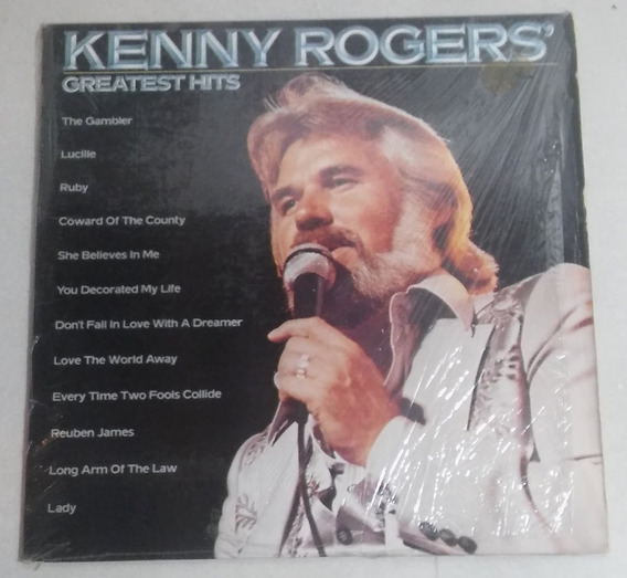 Vinilo Kenny Rogers Greatest Hits (lady, The Gambler, Etc)