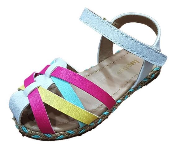Sandália Infantil Velcro Lue Lua Tam 22 Ao 27 Promoção
