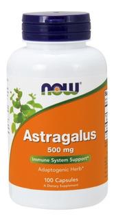 Astragalus 500mg 100 Capsulas Now Foods