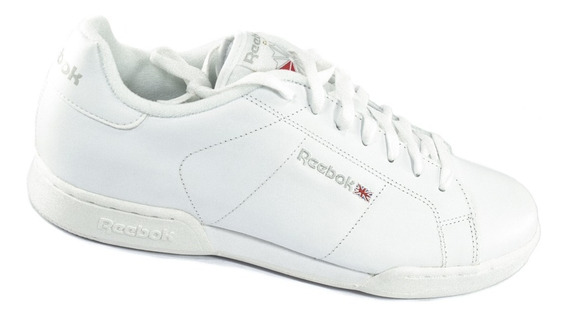 Tenis Reebok Clasicos Npc Ii Color Blanco Para Caballero