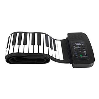 Andoer Portatil 88 Teclas De Silicona Flexible Roll Up Piano