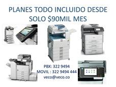 Alquiler De Fotocopiadoras Multifuncionales E Impresoras