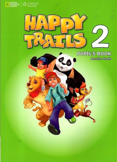 Livro Didático De Inglês Happy Trails 2 Pupil