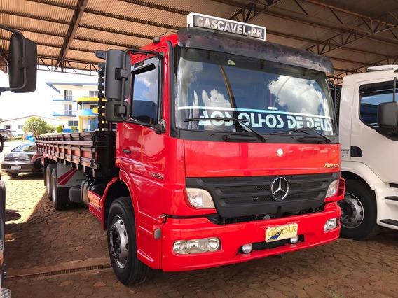 Mb Atego 2425 Truck Reduzido Carroceria Baixa