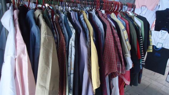4 Camisas Americanas Varias Marcas Tallas L-xl Y Xxl
