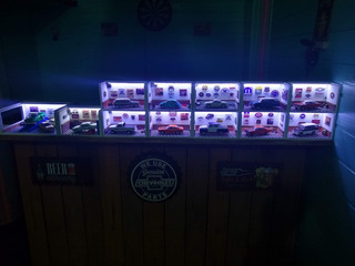 Diorama Luminaria Led 1/43 A 1/32 Miniatura Opala 73 Especi
