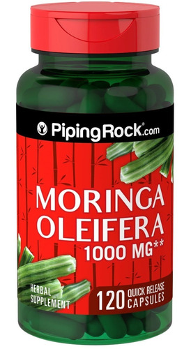 Moringa Oleifera 1000 Mg 120 Caps Piping Rock