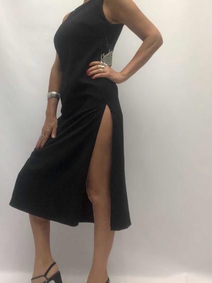 Vestido Estilo Tango Talle 40 Claudia Rubinstein Nuevo