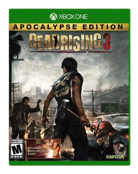 Dead Rising 3 Apocalypse Edition Xbox One Código 25 Digitos