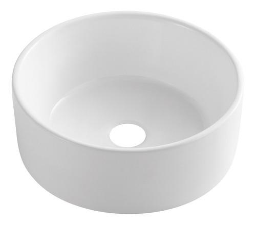 Imagen 1 de 5 de Bacha De Apoyo De Porcelana Blanca 40cm De Diam Blade