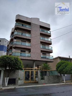 Apartamento Em Praia Grande, 01 Dormitório, Sala Com Sacada. Prédio Com Salão De Festas E Churrasqueira Ap1865 - Ap1865