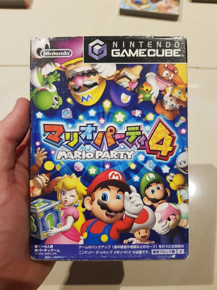 Mario Party 4 Nintendo Gamecube Original Japones Excelente