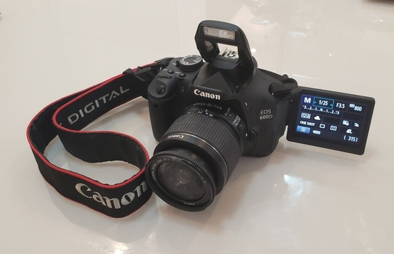 Câmera Canon T3i / 600d 1300 A Vista