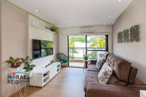 Apartamento À Venda, 102 M² Por R$ 1.190.000,00 - Chácara Santo Antônio (zona Sul) - São Paulo/sp - Ap15959