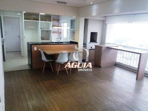 Apartamento Com 3 Dormitórios À Venda, 80 M² Por R$ 599.000,00 - Vila Homero Thon - Santo André/sp - Ap2627