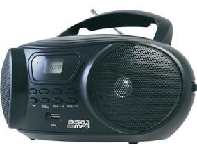 Rádio Britânia Bs-83, Mp3, Entrada Usb/auxiliar, Rádio Fm