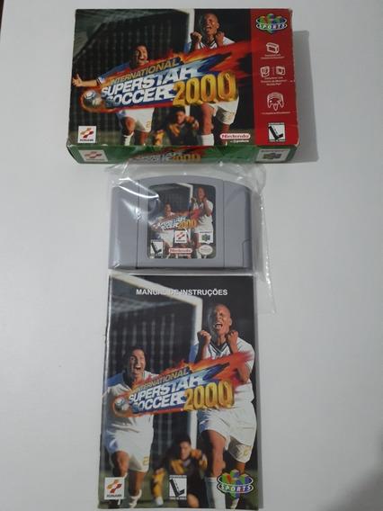 Jogo International Superstar Soccer 2000(nintendo 64).