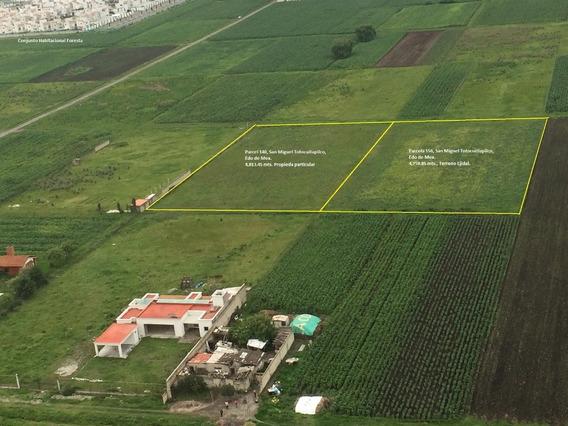 Terreno En Venta, Metepec, Estado De México