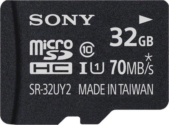 Cartão De Memória Micro-sd 32gb Classe 10 - Sr-32uy2a