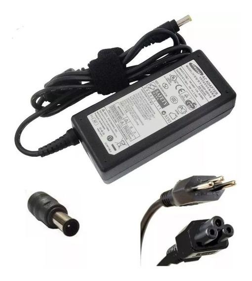 Fonte Carregador Para Notebook Samsung 19v 3.16a Ad-6019d