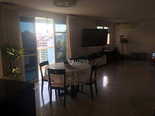 Apartamento À Venda, 95 M² Por R$ 710.000,00 - Icaraí - Niterói/rj - Ap37352