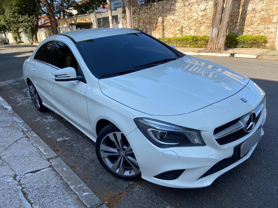 Mercedes-benz Classe Cla 2016 1.6 Urban Turbo Flex 4p