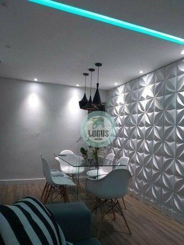 Imagem 1 de 18 de Apartamento Com 2 Dormitórios À Venda, 56 M² Por R$ 275.000,00 - Jardim Campanário - Diadema/sp - Ap2044