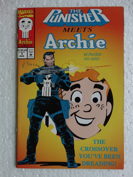 The Punisher Meets Archie Nº 1! Marvel Aug 1994! Inglês