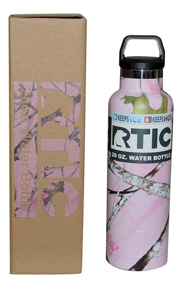 Termo / Cooler Rtic Pink Camo Con Tapa, 20oz
