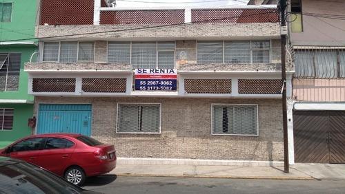 Excelente Casa En Renta, Bien Ubicada, Metro Atlalilco