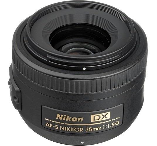 Lente Nikon Af-s Nikkor 35mm F/1.8g Dx - Lj. Platinum