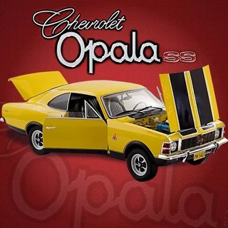 Opala Escala 1/8 Salvat P/ Montar 100 Fasciculos Completo