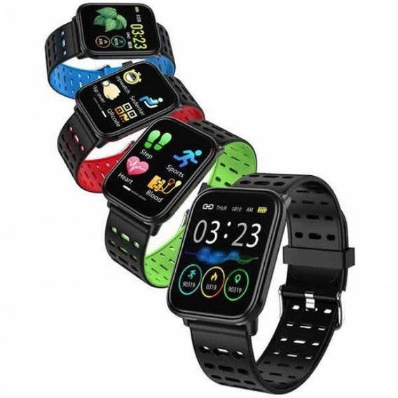 Relógio Smartwatch Wear Quadrado Monitoramento Cardíaco
