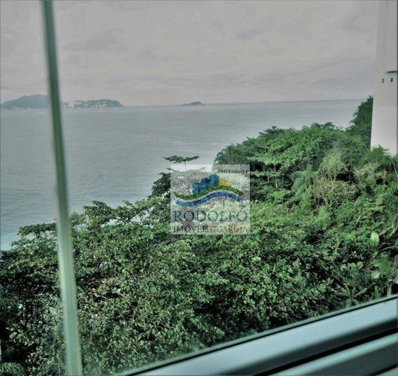 Apartamento Charmoso Beira Mar Com Vista, Localizado Na Praia Das Astúrias Em Região Nobre.lazer Completo!! - Ap0633