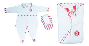 Kit Internacional Bebê Menino Saída Maternidade Luxo Enxoval