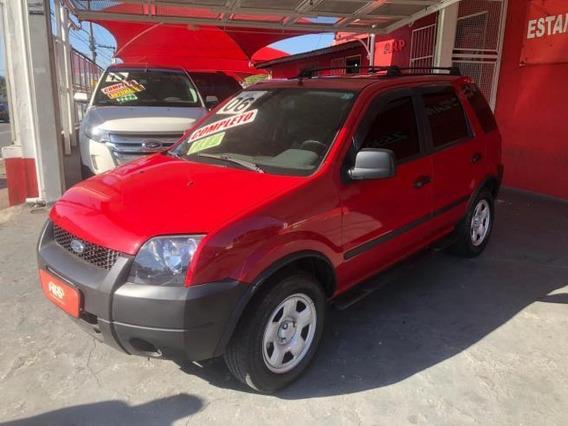 Ford Ecosport Xls 1.6 Flex 2006 Vermelha