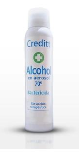Alcohol Bactericida En Aerosol 70º Creditt 240cm3 170gr