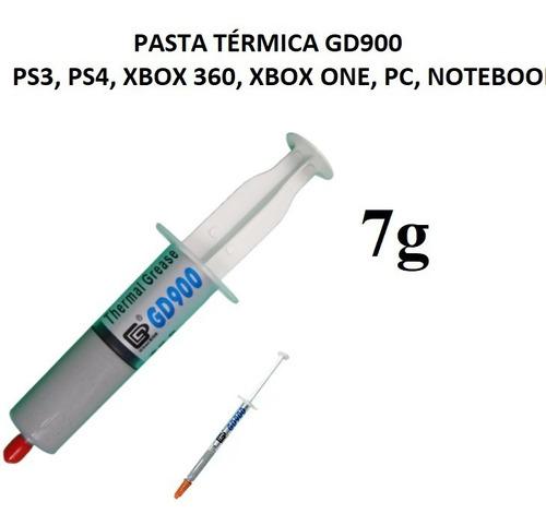 Pasta Térmica Gd900 7g Ps3 Ps4 Xbox360 Xbox One