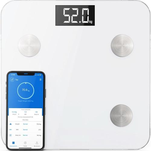 Peso Balanza Digital Fitness Indice Masa Muscular Dieta Gym