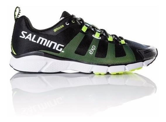 Zapatillas Hombre Deportivas Negras Salming Running Enroute