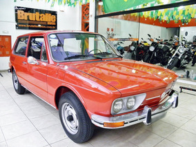 Volkswagen Brasilia 1974 1.6 8v Gasolina 2p Manual Vermelha