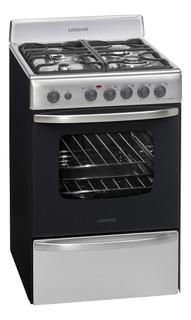 Cocina Longvie 19601X 4 multigas acero inoxidable puerta visor 74L