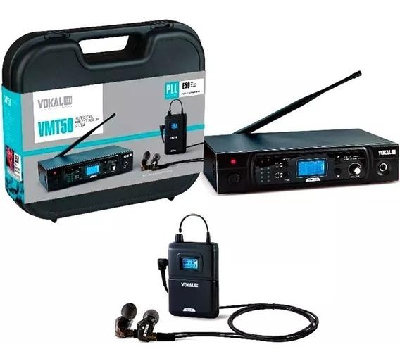 Sistema Monitor In Ear S/fio Vokal Vmt50 + 1 Fone Oferta !!
