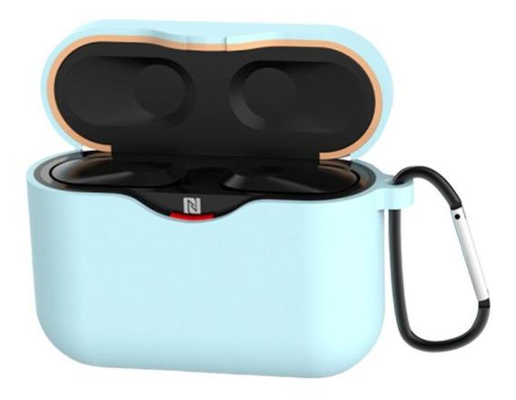 Sony Wf-1000xm3 Luva Protetora Azul Gancho Send Siamese