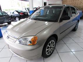 Honda Civic 1.7 Lx 2001 Automatico