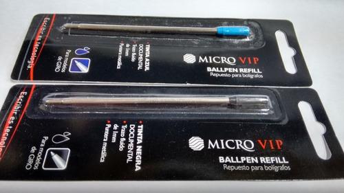 Micro Vip Azul Ballpen Refill