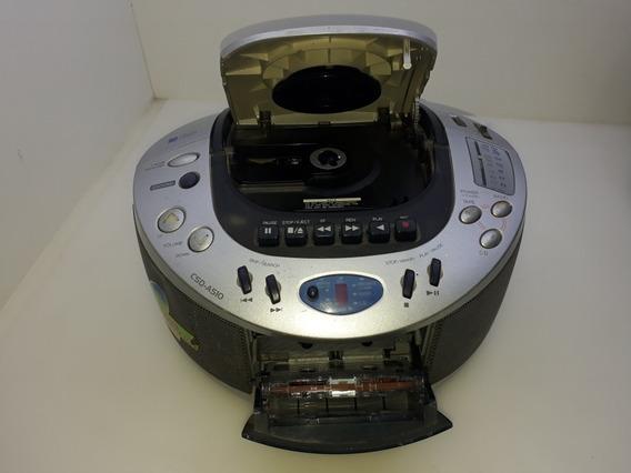 Som Aiwa Compacto Disc Para Retirada De Peças.